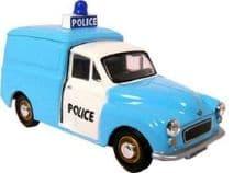 Oxford Diecast P008 1:43 O scale Police Morris Minor van